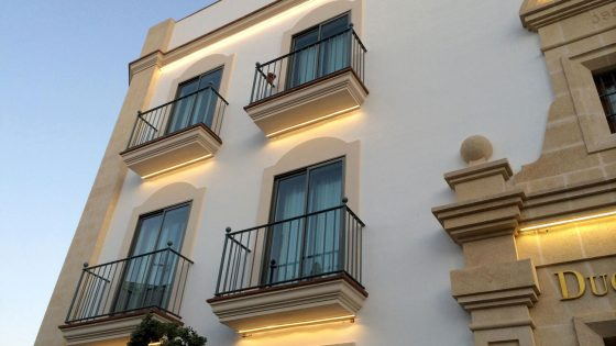 Iluminacion Led en fachada